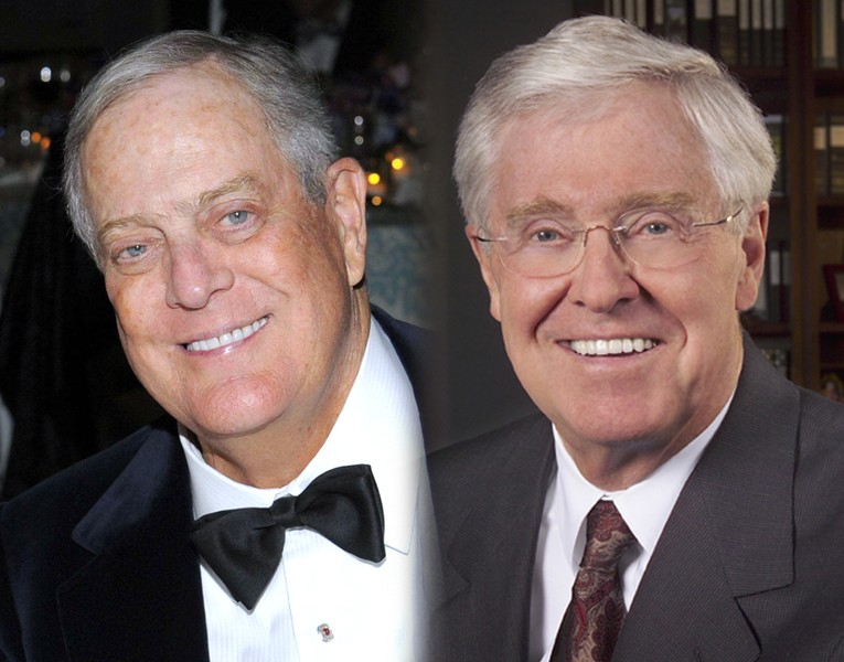 Charles koch archives the political garbage chute for Charles und david koch