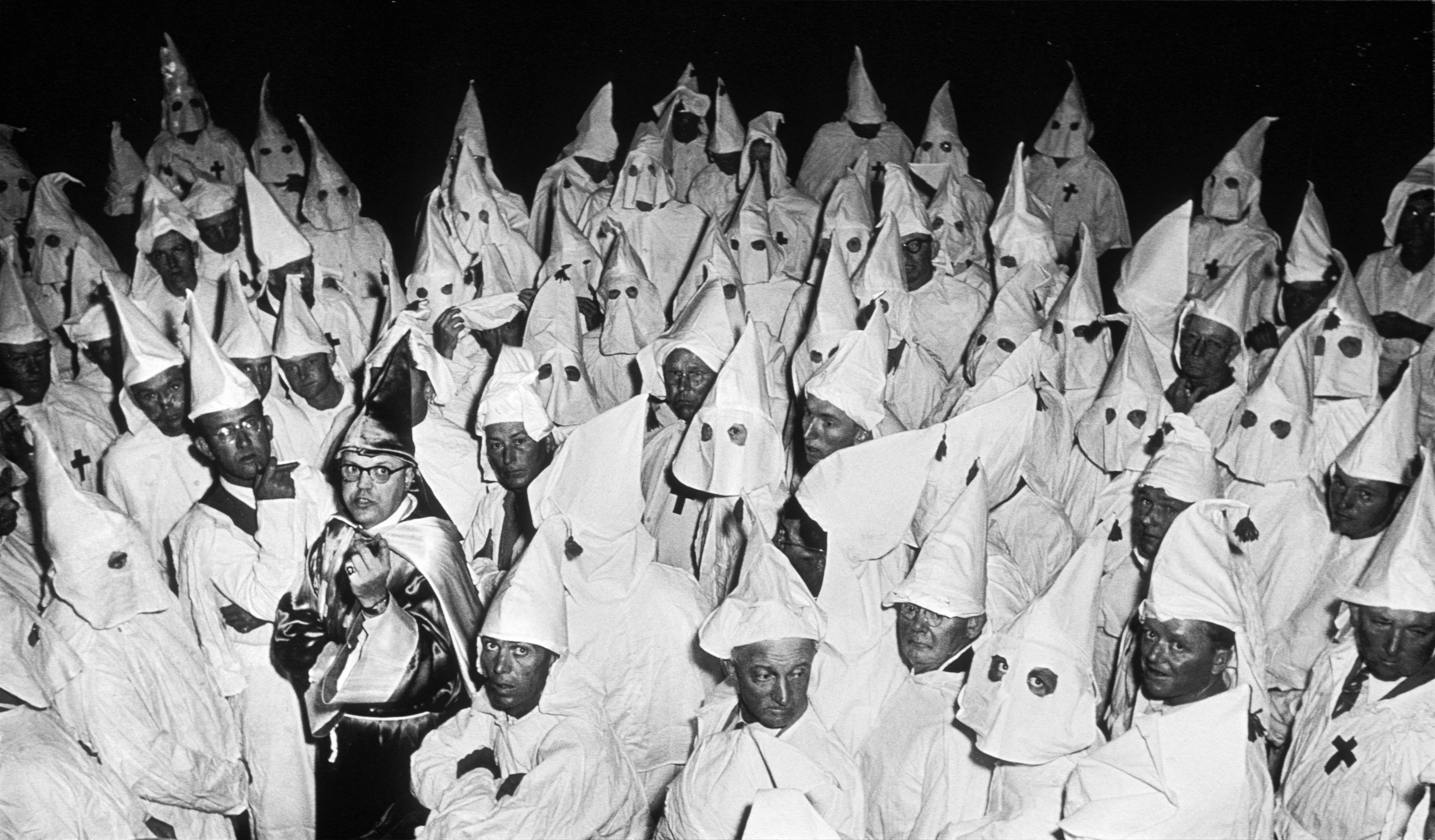 Ku Klux Klan (KKK) meeting, South Carolina, 1951.© Heirs of W. Eugene Smith