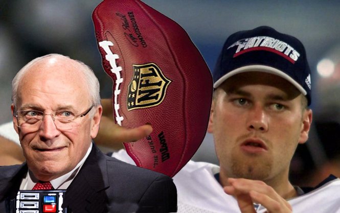 """Why Isn't Tom Brady Going to Jail?"" by Dick Cheney"
