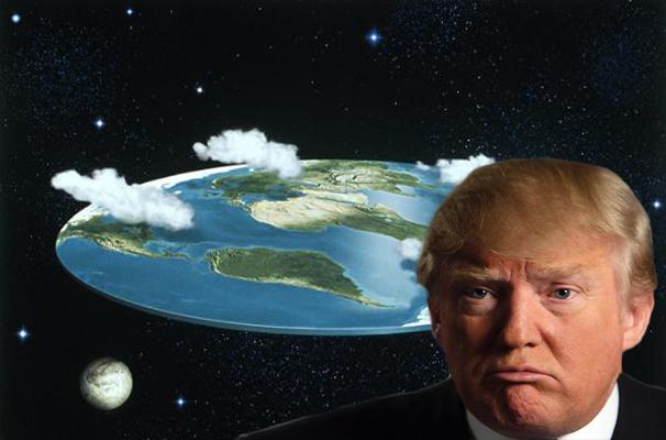 Trump Announces Next Year U S Will Celebrate Flat Earth