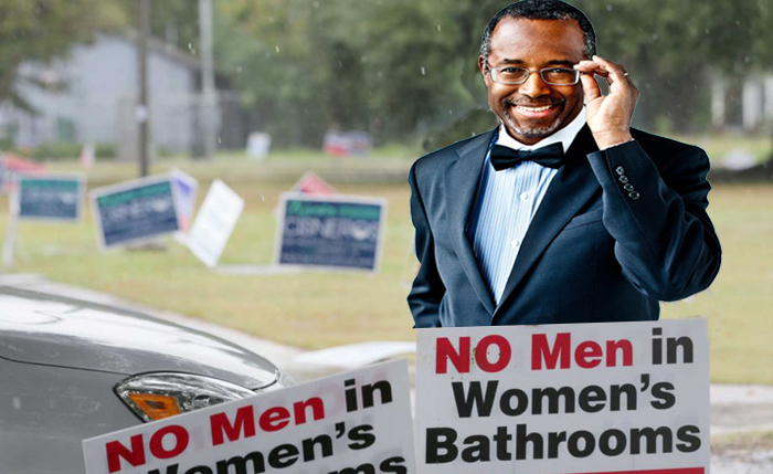 Trans Man to Ben Carson: Dumb People in the White House Make ME Uncomfortable