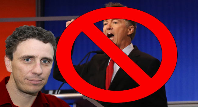 Sad Libertarian Doesn't Get Why His Unpopular Candidate With Unpopular Ideas Was Dropped From Debate