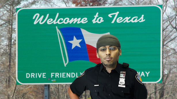 Muslim Cop Patrols Ted Cruz's Neighborhood for Douchebags, Finds One Named Ted Cruz
