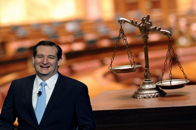 Court Rules Ted Cruz is a Citizen, But Not a Member of the Human Race