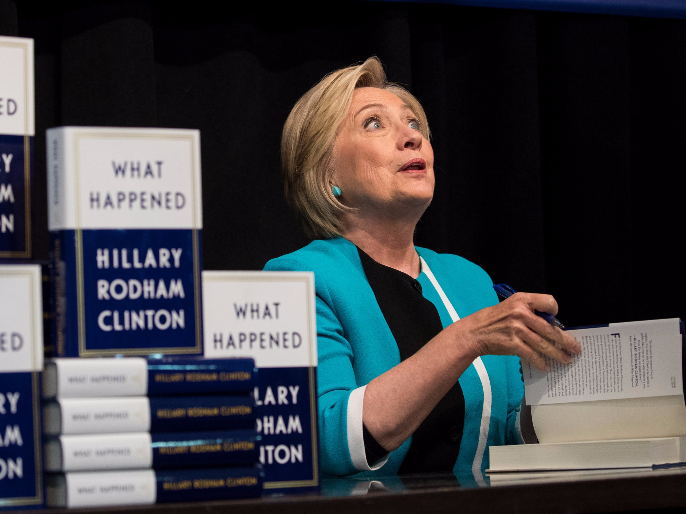 Hillary Clinton Book Signing Tour